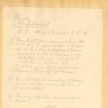 Image of Order for McCrae, Boer War
