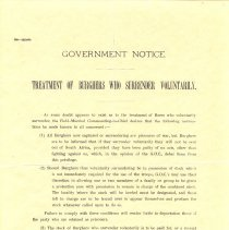 Image of M1968X.255.1 - Notice, Government