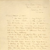 Image of LetterJ McCrae to Jean Matthew