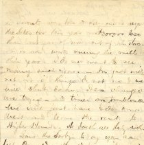 Image of Letter, D. McC to William p3