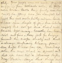 Image of Letter, D. McC to William p4