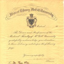 Image of M1968X.299.1 - Certificate