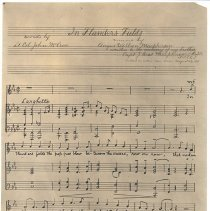 Image of In Flanders' Field Sheet Music