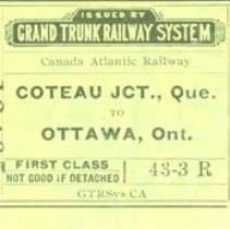 Image of Grand Trunk Ticket