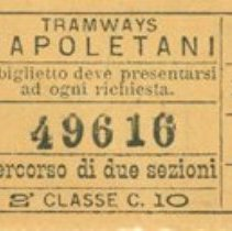 Image of Naples Tramway Ticket