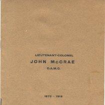 Image of Lt. Col. McCrae, CAMC