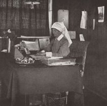 Image of Page 65 Matron McLatchy in office