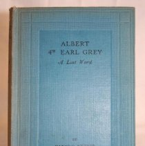 Image of Earl Grey A Last Word