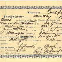 Image of Wedding Certificate