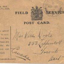 Image of Field Service Postcard