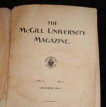 Image of McGill Magazine, 1905