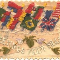Image of Embroidered Postcard