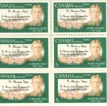 Image of J. McCrae Memorial Stamps