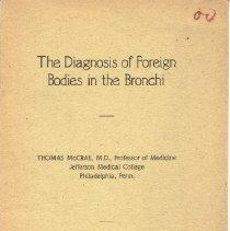 Image of Thomas McCrae Diagnosis