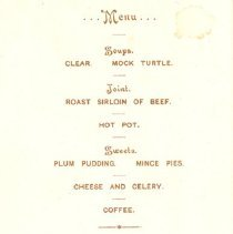 Image of Dinner Menu