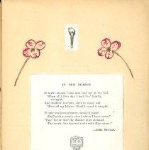 Image of Ivan Glover's Scrapbook, Pg.1