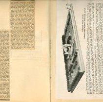 Image of I. Glover's Scrapbook, P.22-23