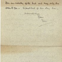 Image of Letter to Nona from Tom pg. 4
