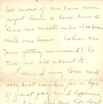 Image of Letter from Angus Archibald p3