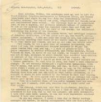 Image of .2 Letter to Col Birkett