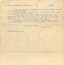 Image of .4 Letter to Col Birkett