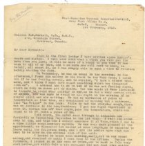 Image of .1 Letter to Col Birkett