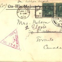Image of Envelope from J. McCrae