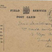 Image of Postcard Apr 22 1915 side1