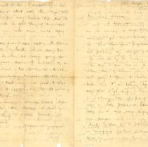 Image of Letter to Laura Kains