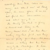 Image of J McCrae to L Kains p.3