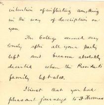 Image of T McCrea to L Kains 1893 p.2