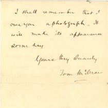 Image of T McCrea to L Kains 1893 p.3