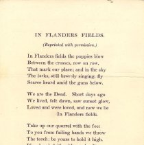 Image of In Flanders Fields