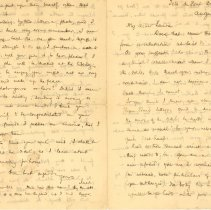 Image of Letter to Ms. Laura Kains
