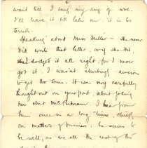 Image of J. McCrae to L Kains 1893 p.2