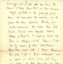 Image of J. McCrae to L Kains 1893 p.3