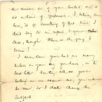 Image of J. McCrae to L Kains 1893 p.5