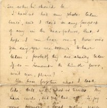 Image of J McCrae to L Kains 1894 p.2
