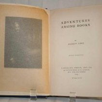Image of Adventures Among Books