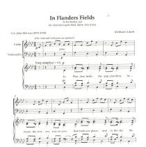 Image of In Flanders Fields Page 1
