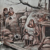 Image of Close Up of Cartoon on Cover