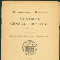 Image of Pathological Report 1896 - 1902 - Inside Page