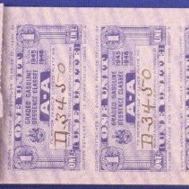 Image of Ration Book - Inside