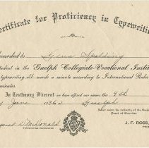 Image of 1994.47.9 - Certificate