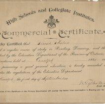 Image of 2000.42.2 - Certificate, Achievement