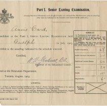 Image of 2000.47.2 - Certificate, Achievement