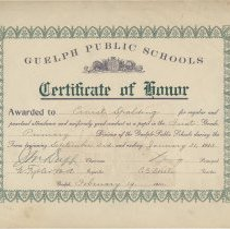 Image of 1952.58.2 - Certificate