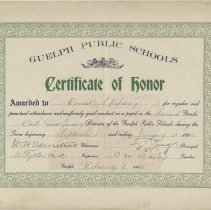Image of 1952.58.3 - Certificate