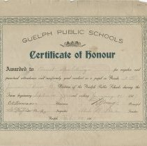 Image of 1952.58.5 - Certificate