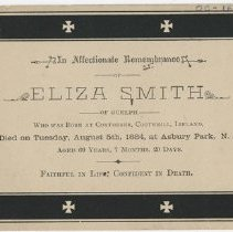 Image of Mourning Card
